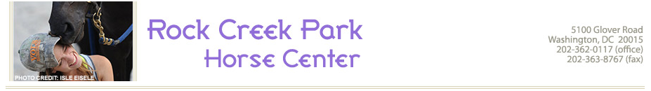 Rock Creek Park Horse Center