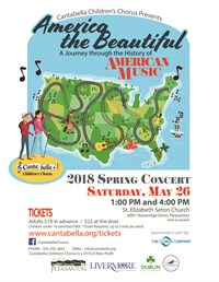 "Spring 2018 ""America the Beautiful"" Concert Media"