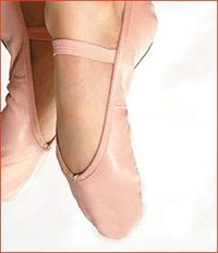 Ballet Shoes Adult Sizes 1 and above
