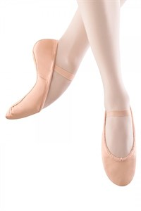 Child's Leather Ballet - Pink