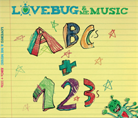 LoveBug & Me CD ~ ABCs & 123s