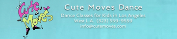Register | Cute Moves-Los Angeles Dance Classes for Kids
